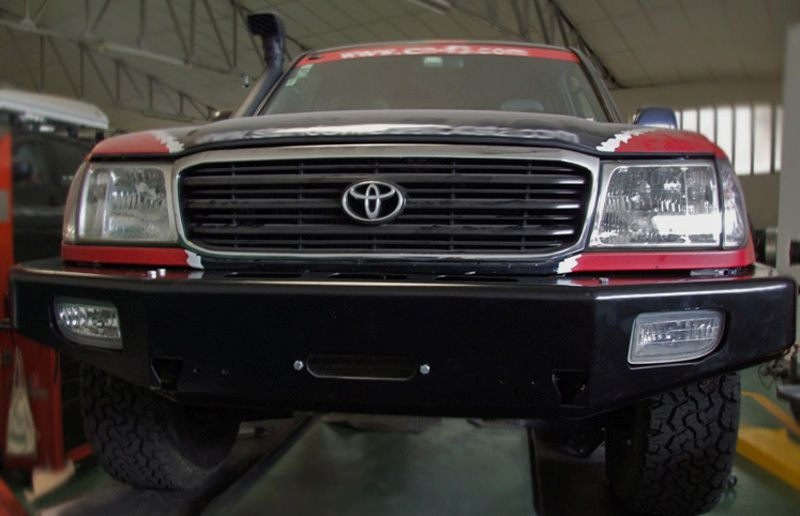 AFN Front Winch Bumper; Type II; for Land Cruiser HDJ100 ...